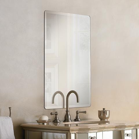 Galvin frameless beveled 24 x 36 wall mirror p1400