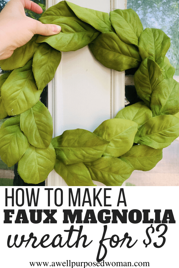 Photo of How to make an artificial magnolia wreath for $ 3 – a well-intentioned woman