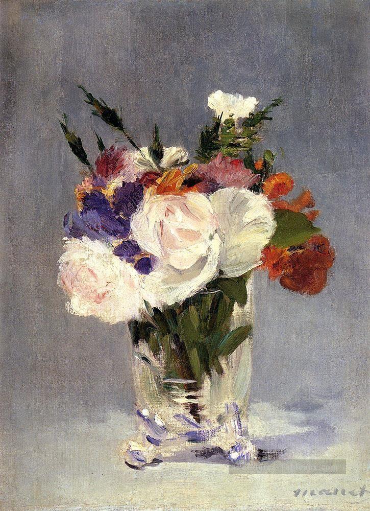 Exceptionnel Fleurs In A Crystal Vase 1882 fleur Édouard Manet Peintures à l  FM12