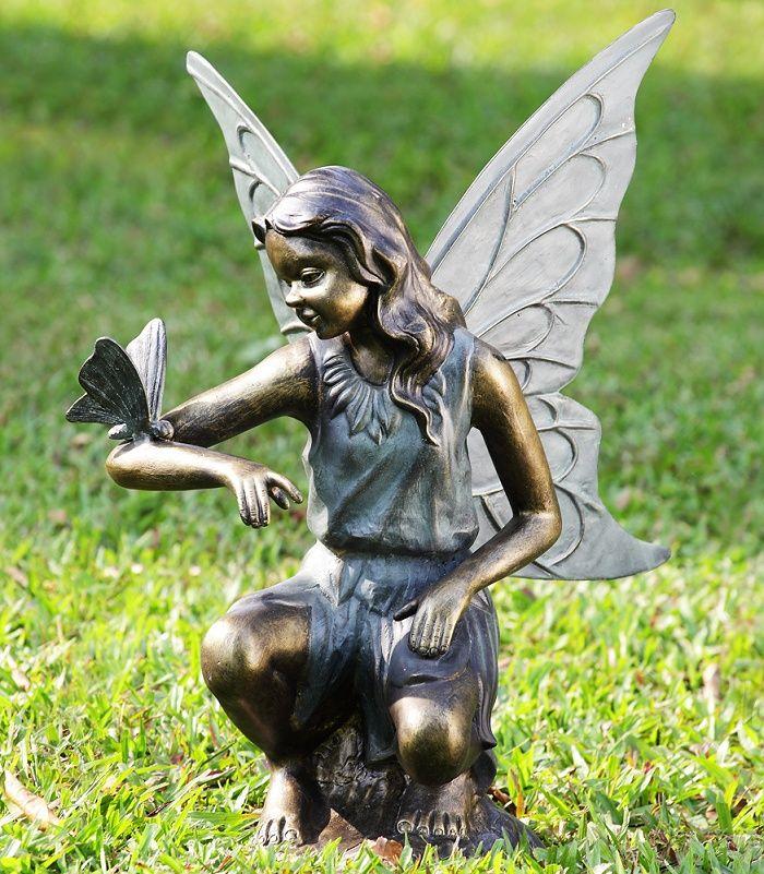 Fairy Butterfly Grace Garden Sculpture Stohans Showcase 400 x 300