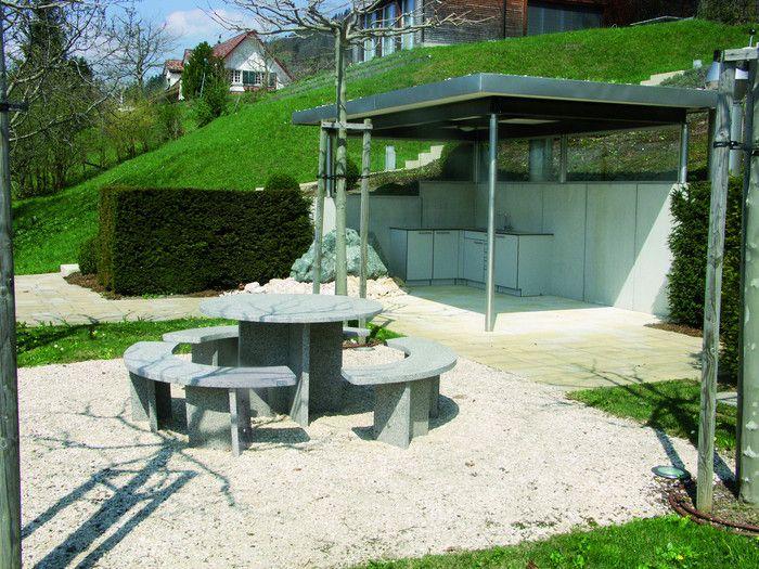 homegate - 8739 Rieden - Pergola mit Outdoor-Küche.