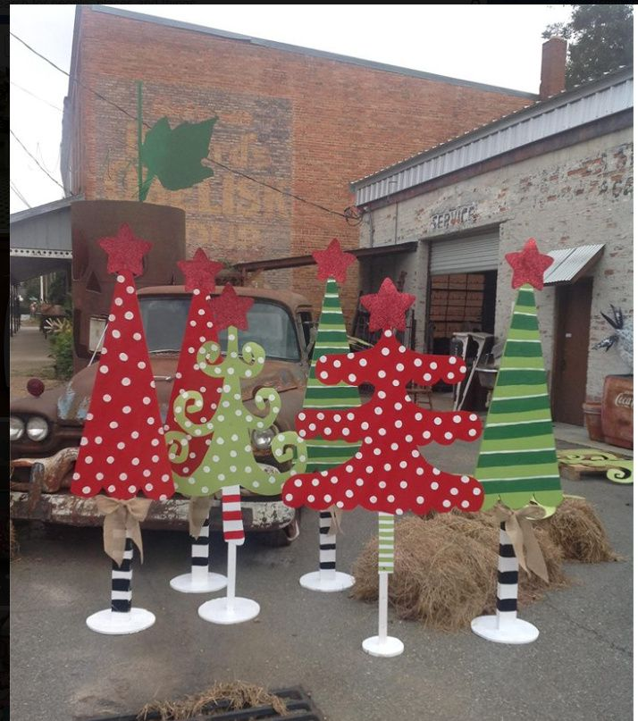 """Christmas Tree Farms In North Georgia: Whimsical """"tree Farm"""" From The Mailman's Daughter, Boston"""
