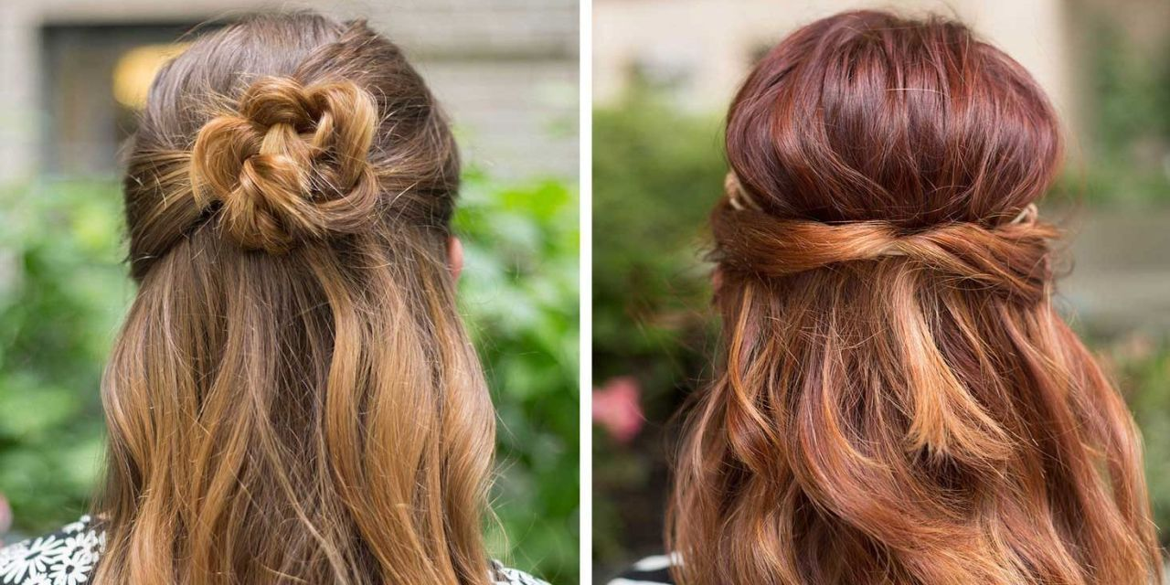 supereasy hairstyles for lazy girls who canut even super easy