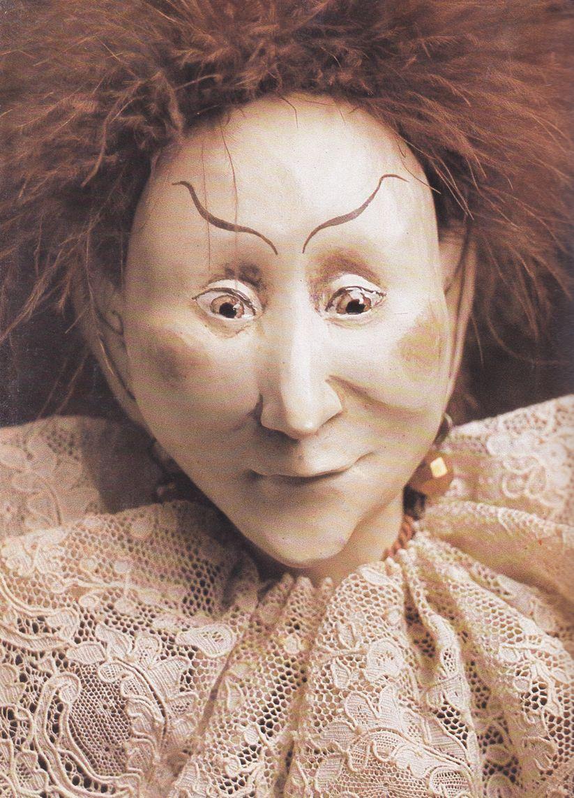 Marlaine Verhelst: Jasper, hand sculpted porcelain 1979