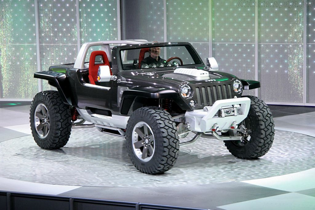 2005 Jeep Hurricane Concept Gallery Images Ultimatecarpage Com