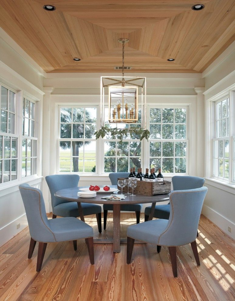 Cool Lantern Chandelier Trend Other Metro Beach Style Dining Room Innovative Designs With Gray Chair Ribbon Windows