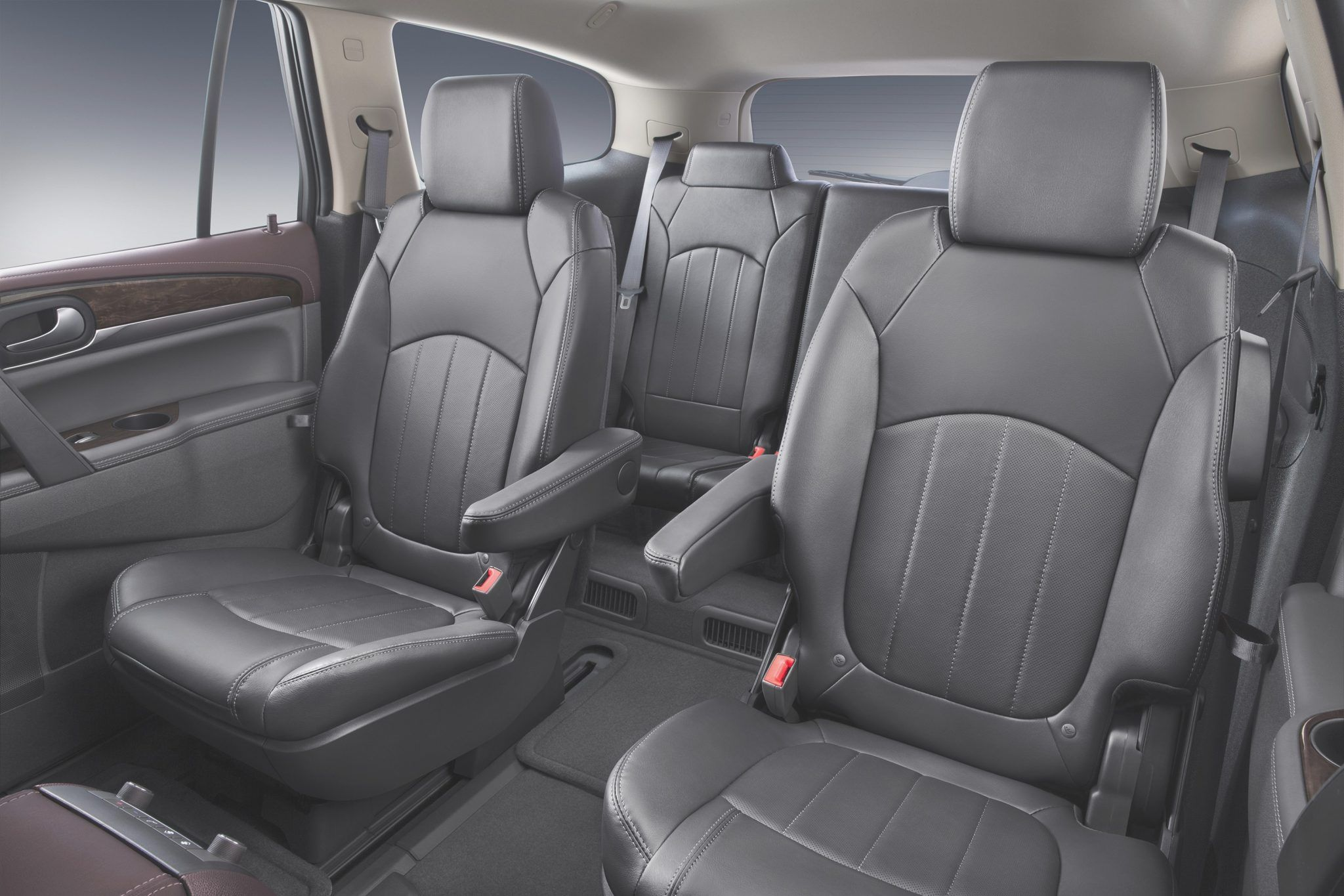 Suv With Captain Chairs 7 Penger 2016 B 2nd Row S And Third