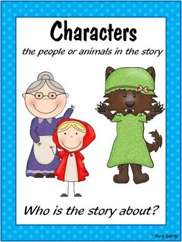 Story Elements Anchor Charts Story elements, Anchor
