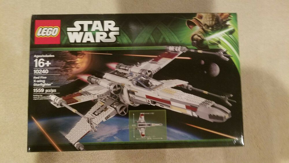 New unopened lego star wars 10240 ucs red five xwing us