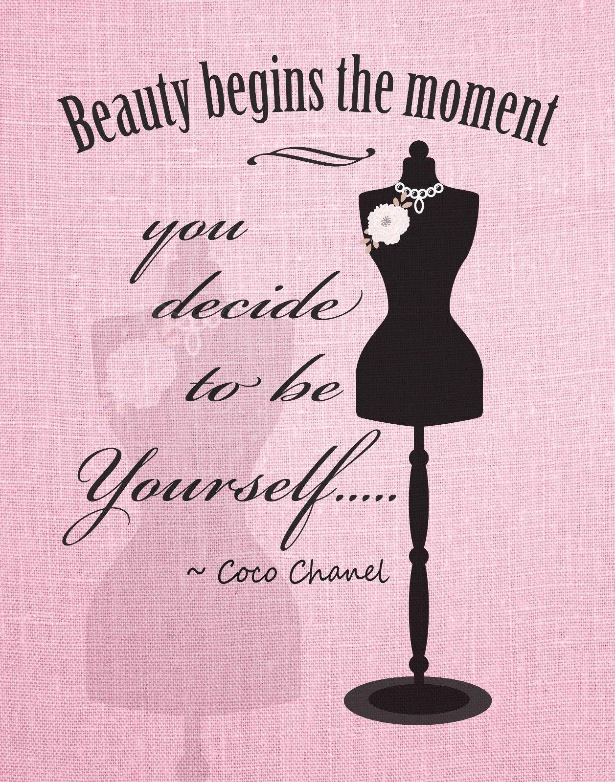 Details about Women's Beauty Fashion Art Print