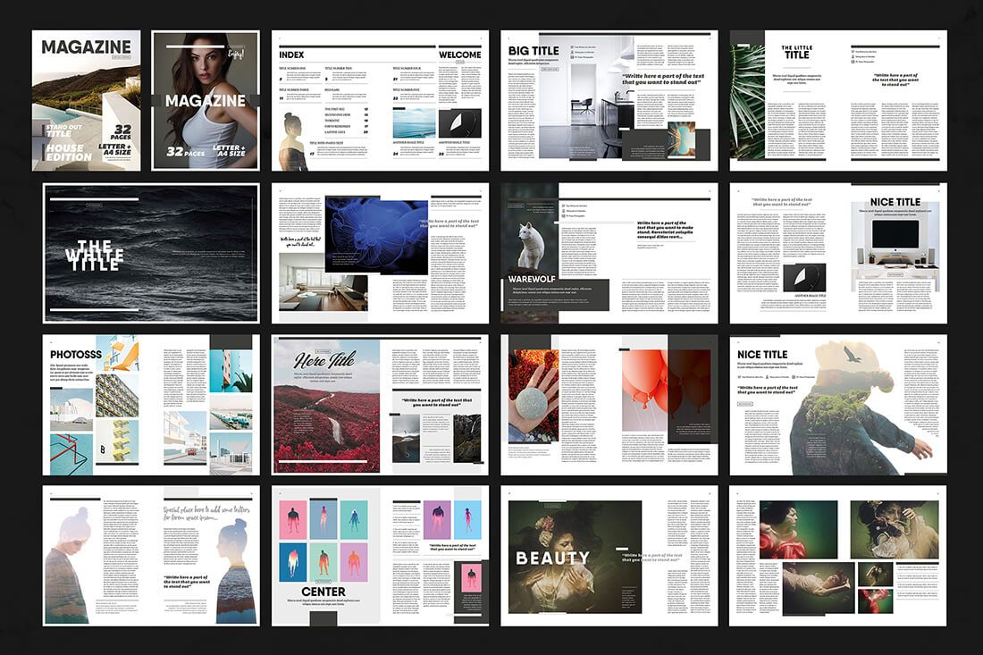15 InDesign Magazine & Brochure Templates - only $24! - MightyDeals ...