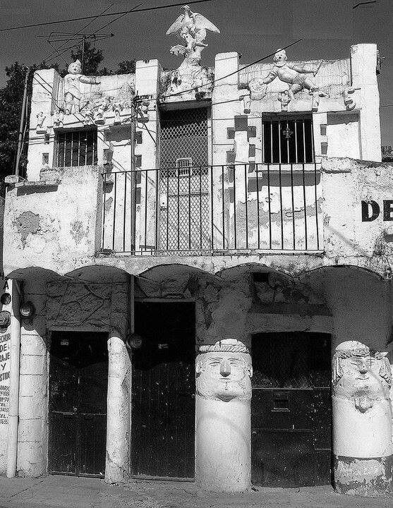 Jojutla Morelos La Casa De Las Caritas Caras Viajes