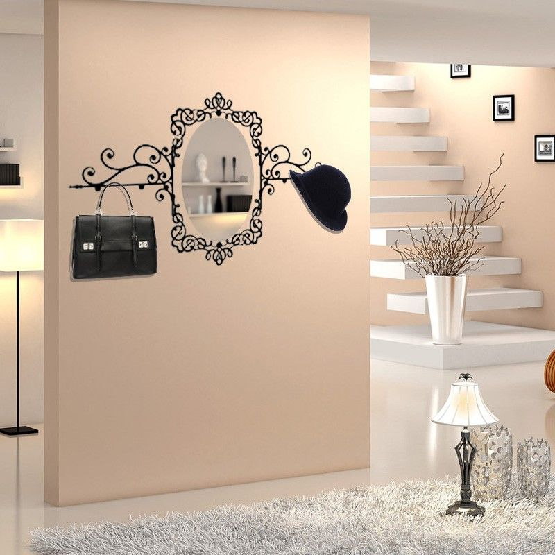 Funlife Removable Cheap Adhesive Mirror Wall Stickers And Wall