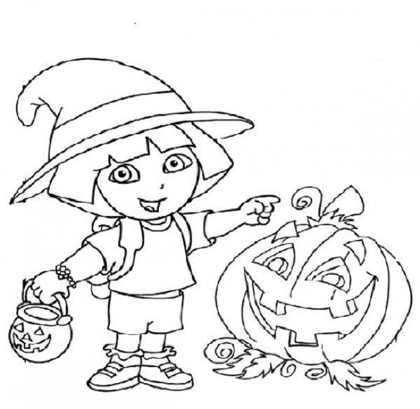 Groß Dora Halloween Malvorlagen Fotos - Framing Malvorlagen ...