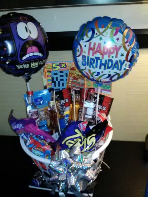 A Boyfriend Birthday Basket
