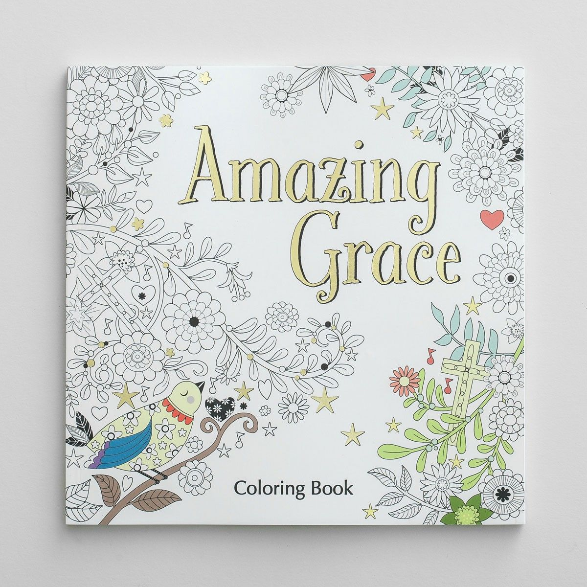 amazing grace inspirational coloring book - Coloring Book Paper Stock