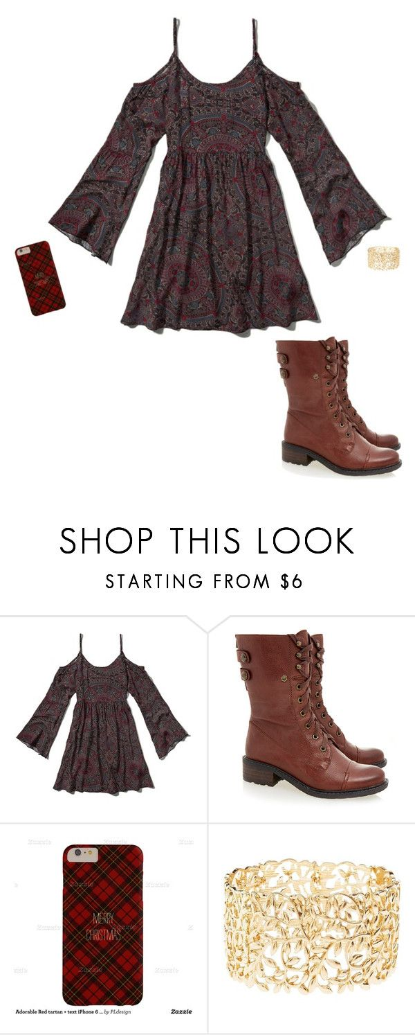 """""""Untitled #1185"""" by iamcoolerthanyomama ❤ liked on Polyvore featuring Abercrombie & Fitch, Sam Edelman and Charlotte Russe"""