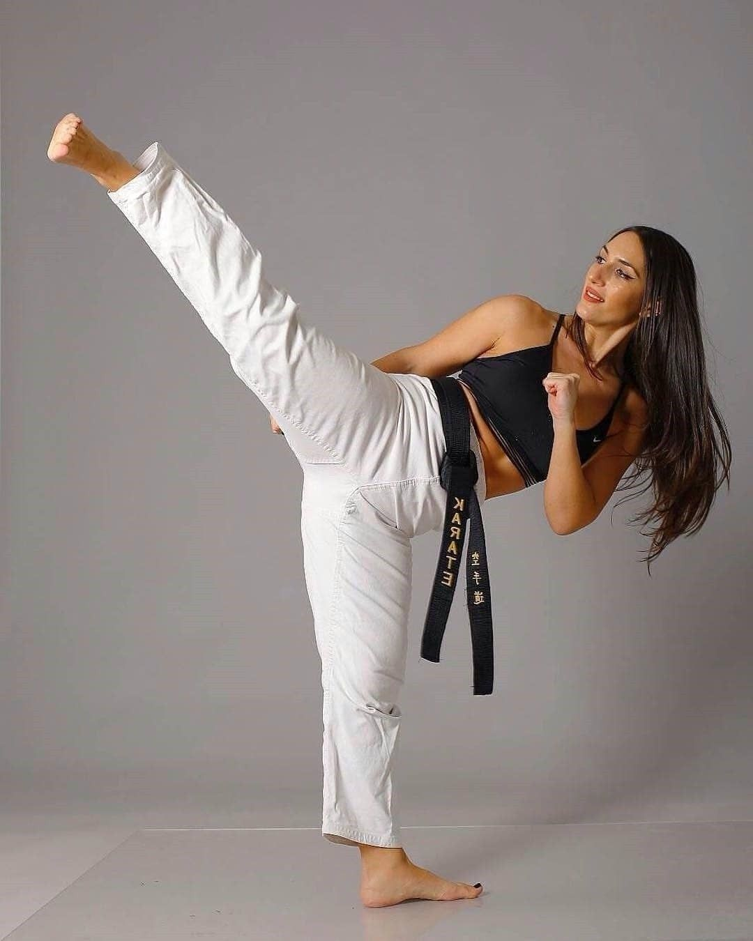 sexy women doing martial arts