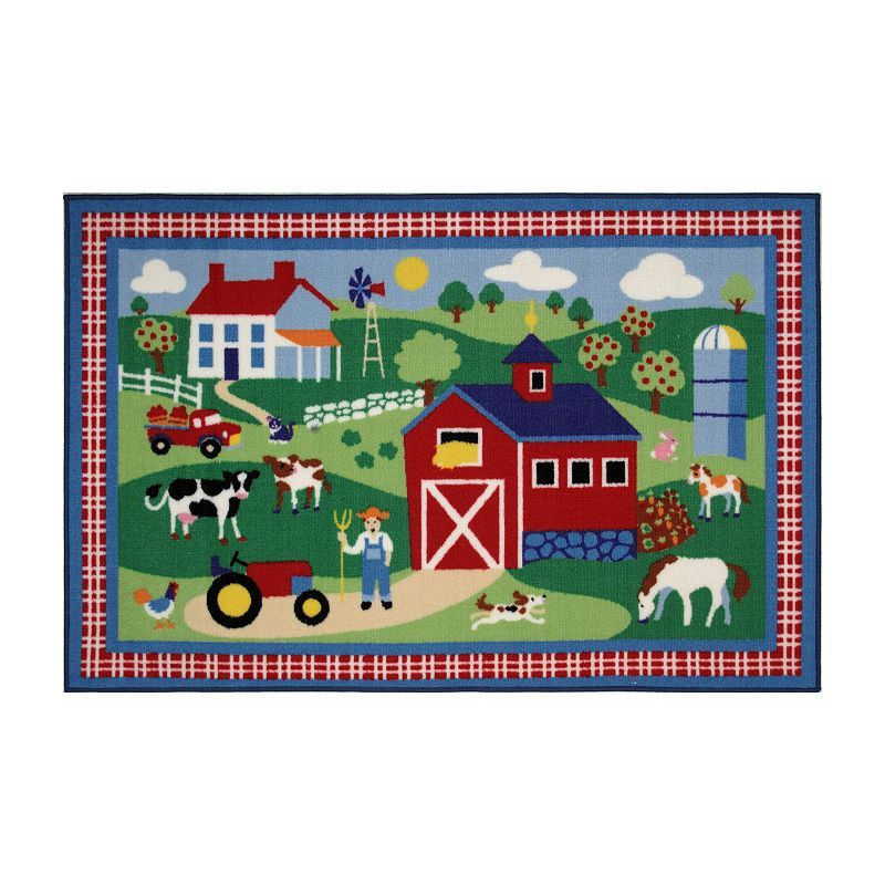 Rugs Olive Kids Country Farm Rug