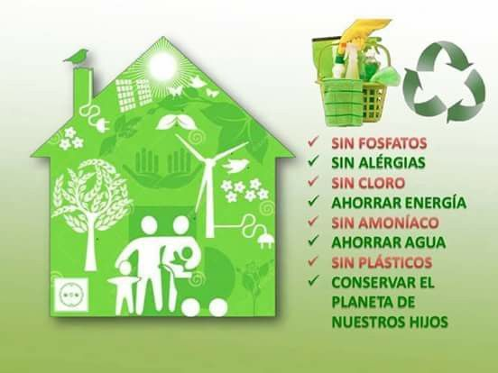 Ecologia En El Hogar Productos De Limpieza Ecologicos Hogares