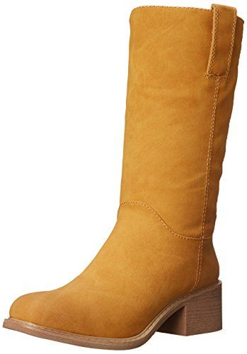 Dolce by Mojo Moxy Womens Bounty Western Boot Buckskin 8 M US * Check out this great product.