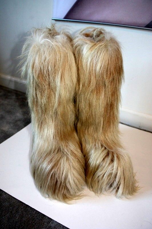 70s Fur Boots I Love Them And Have A Pair Quite Similar