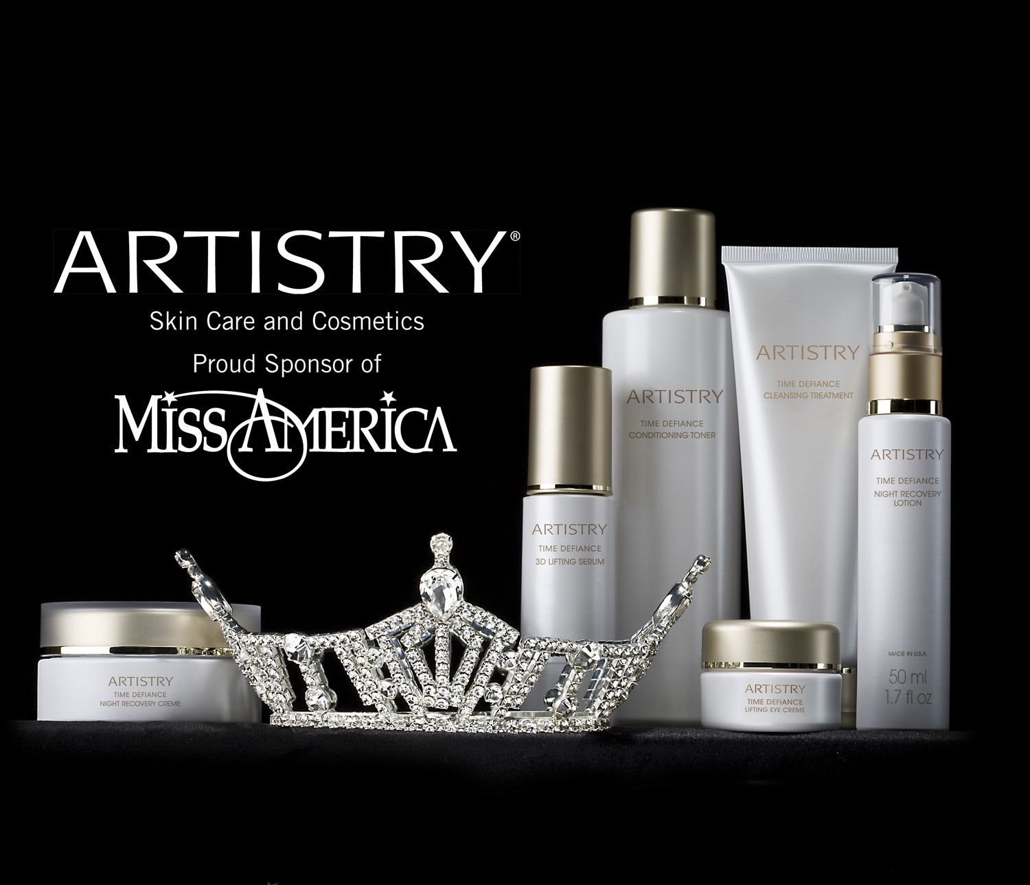 amway global and artistryr partner with the miss america