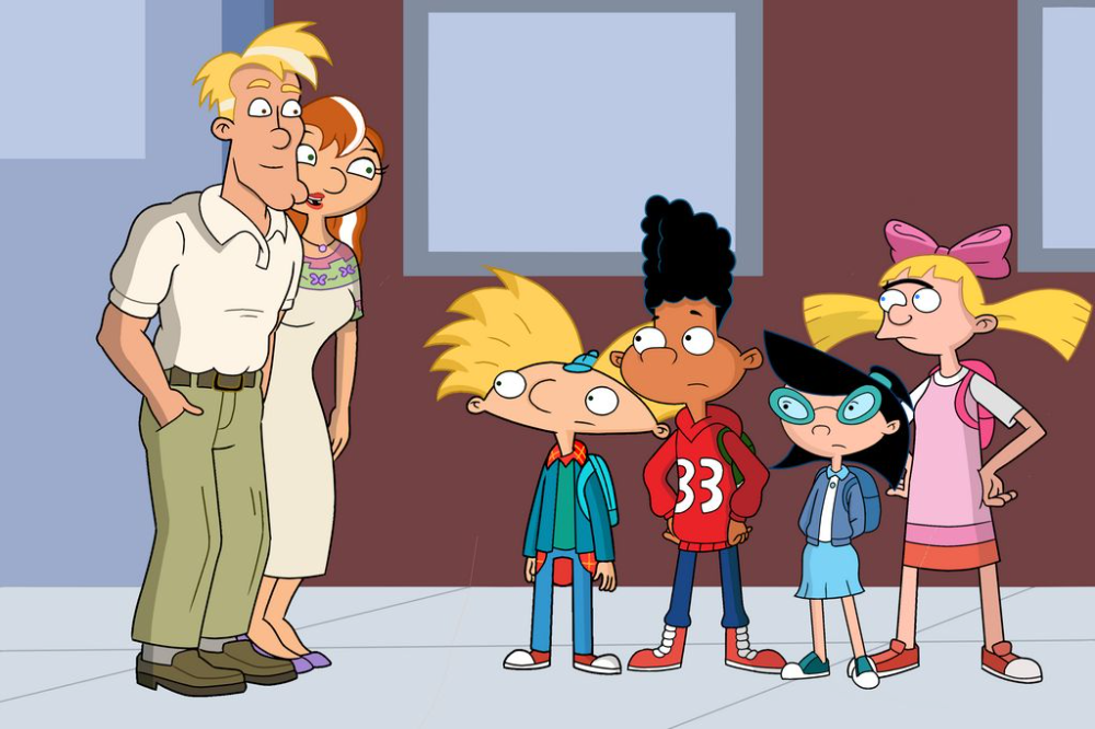 Miles Stella Arnold Gerald Phoebe And Helga By Haanimation On Deviantart Hey Arnold Movie Hey Arnold Cartoon Crossovers