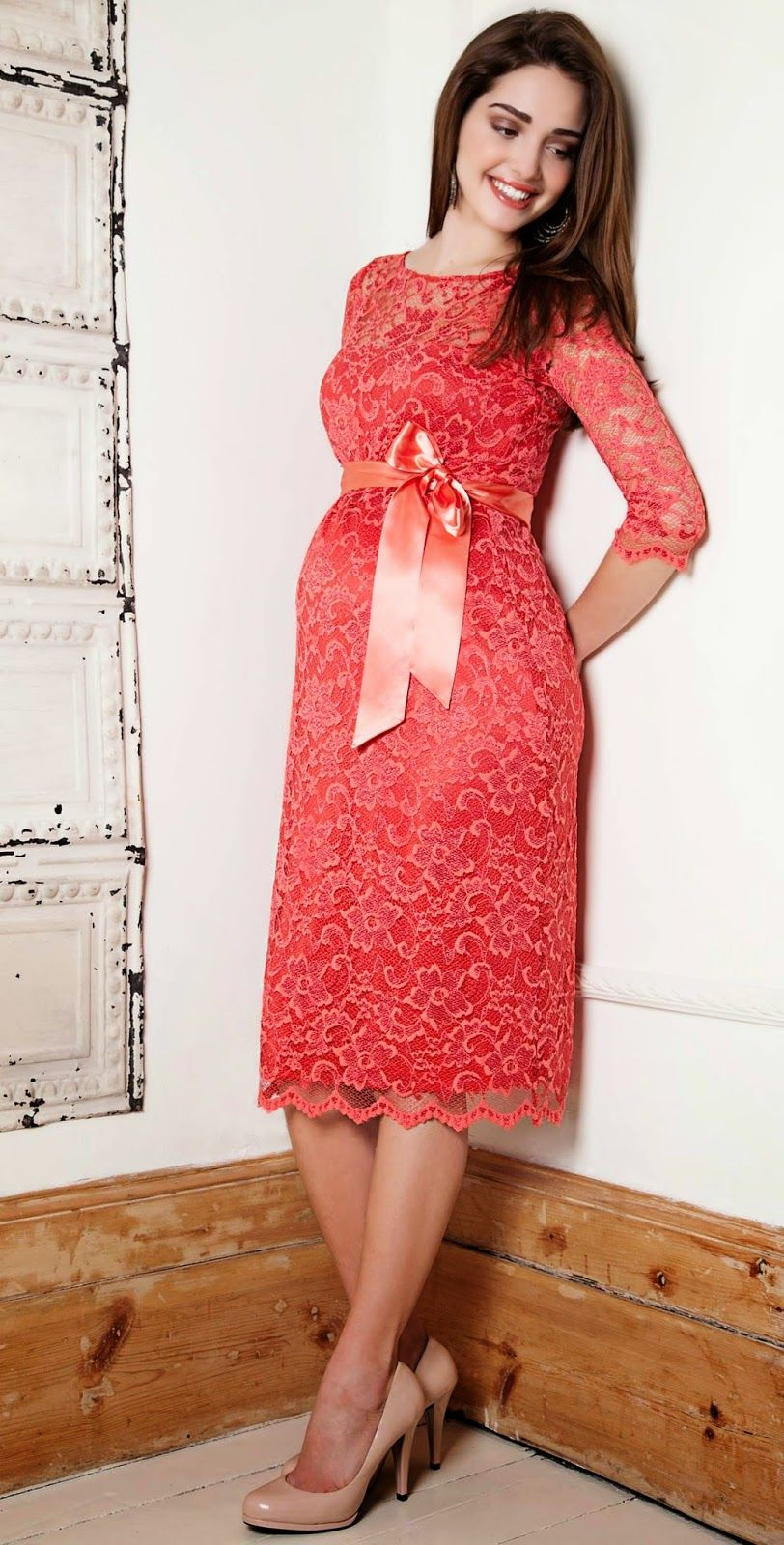 ddc4282a6 Alternativas de vestidos de fiesta para embarazadas