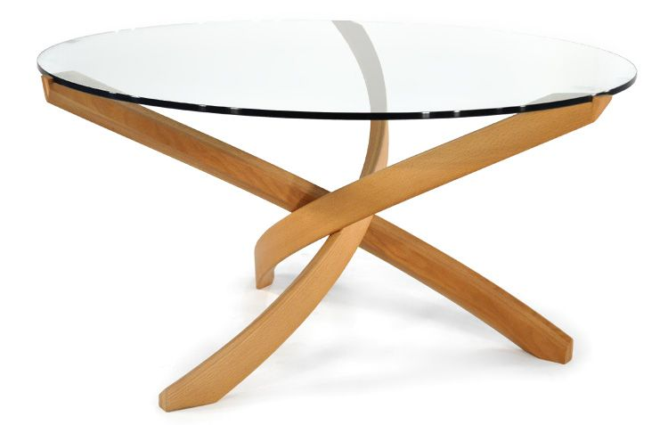 Round Twisted Coffee Table   Scan Design
