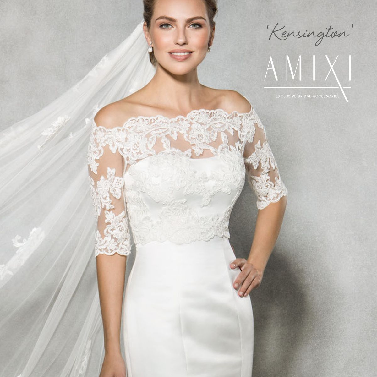 Create a different look with your wedding dress we love this create a different look with your wedding dress we love this pretty lace jacket kensington ombrellifo Images