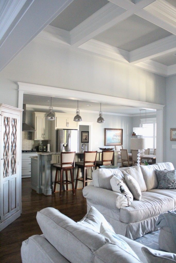 Home of the Month Lake House Reveal wwwsimplestylings open