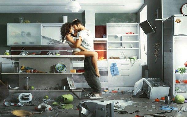 Любовь на кухонном столе