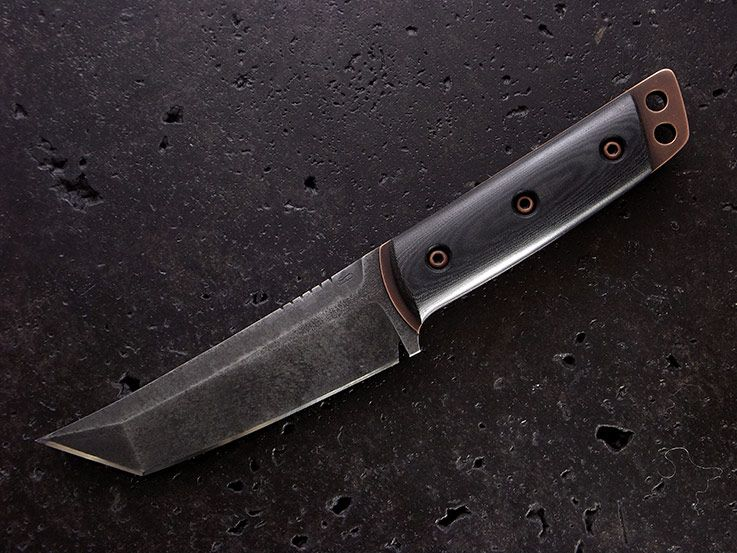 Custom Tanto Knife 157