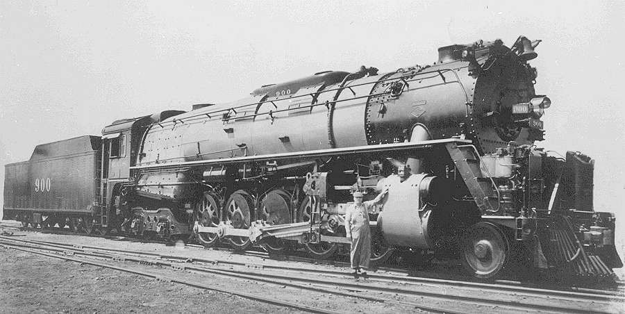 Kansas City Southern 900 Class J 2 10 4 Was The First Of 10 Built By Lima In 1937 And Retired In 1952 53 Locomotive Railway Museum Train