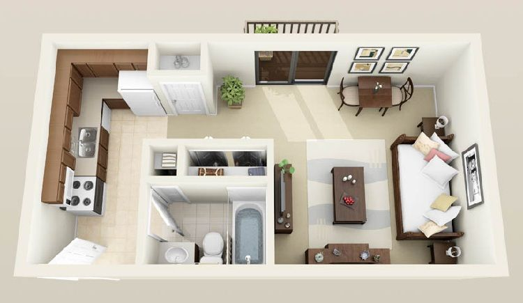 Unique 3d Apartment Floor Plans Slideez Apartment Floor Plan Basement Apartment Apartment Floor Plans