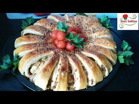 فطيرة الزهرة التركية مورقة بدون العجين المورق بطريقة مختلفة جديدة رائعة فطائر تركية مثل القطن Youtube Turkish Recipes Food Arabic Food