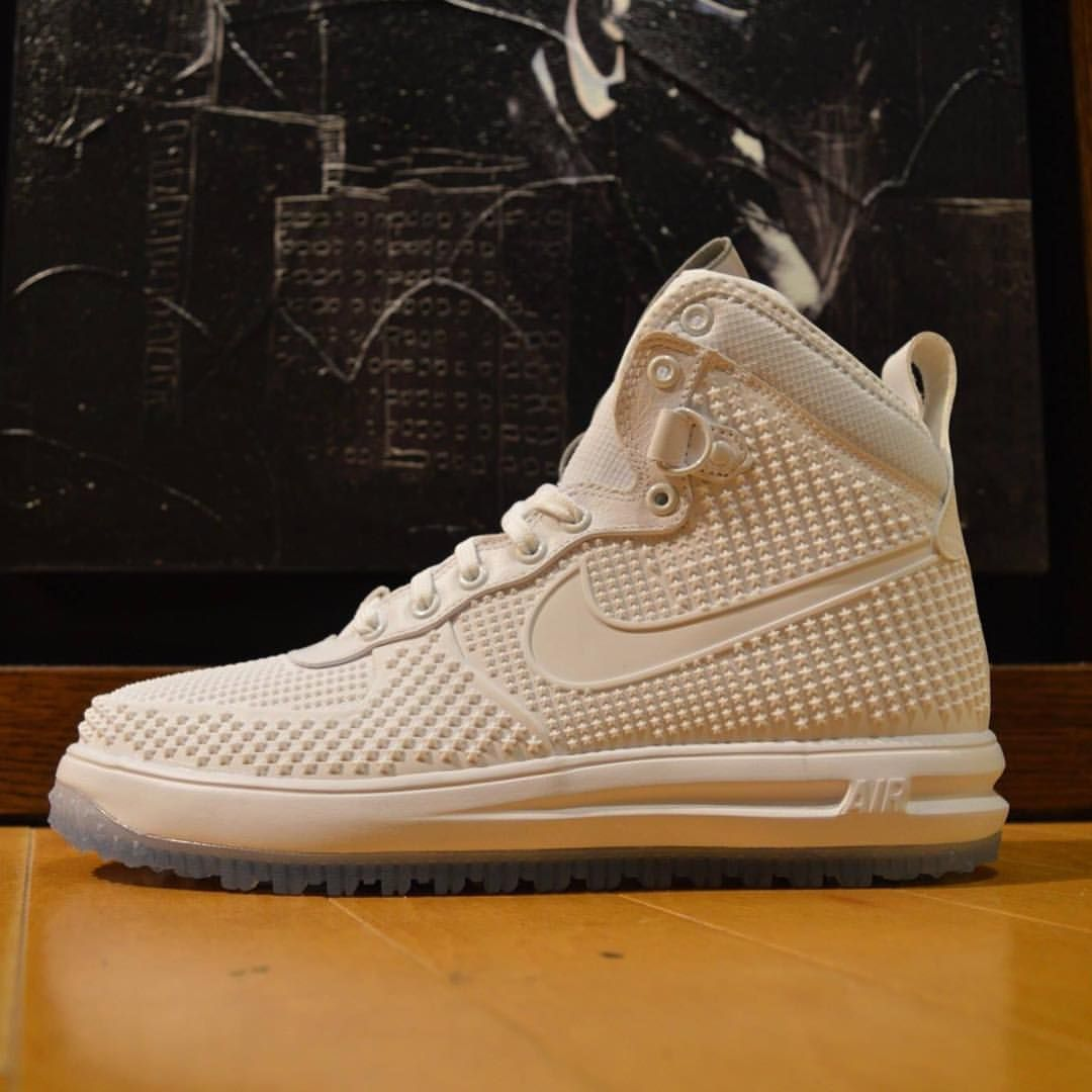 Nike Lunar Force 1 Duckboot: White