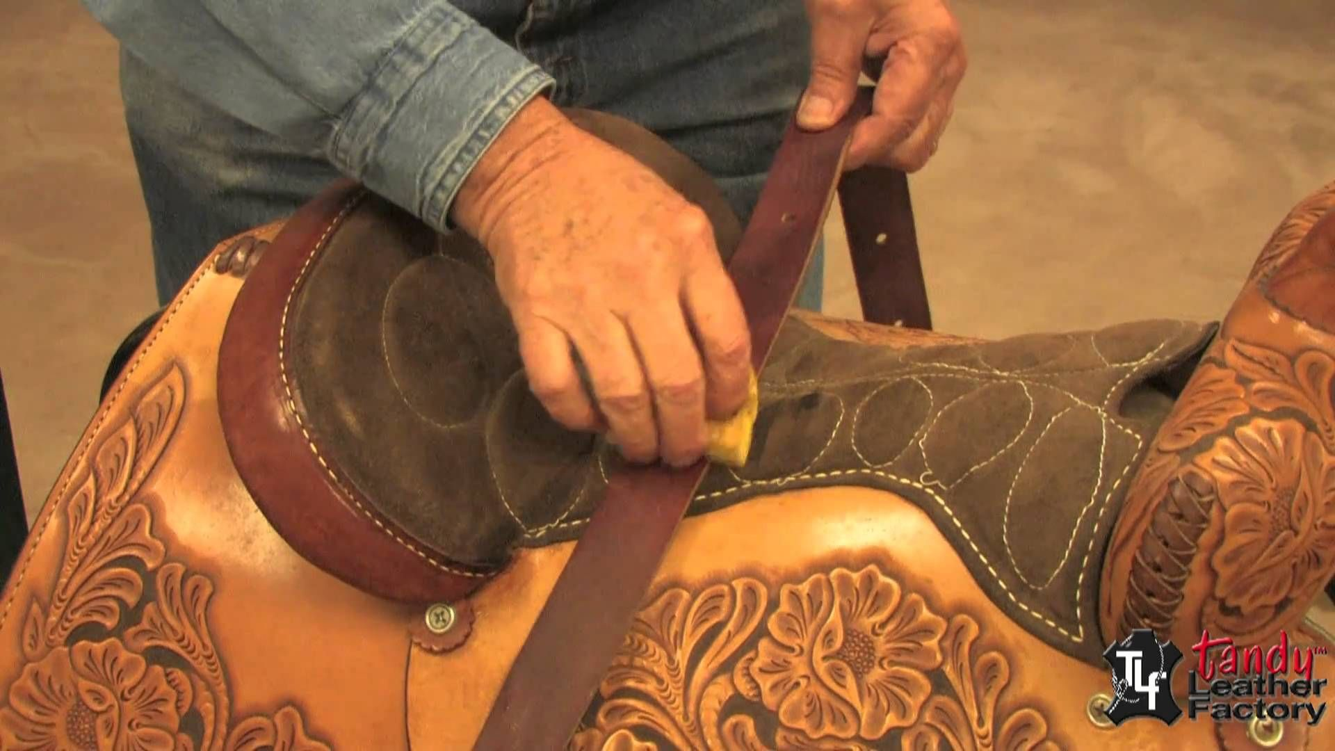 George Hurst shows you how to Remove Mold and Mildew from leather in this  leathercraft video by Tandy Leather. 049eadb67ac24