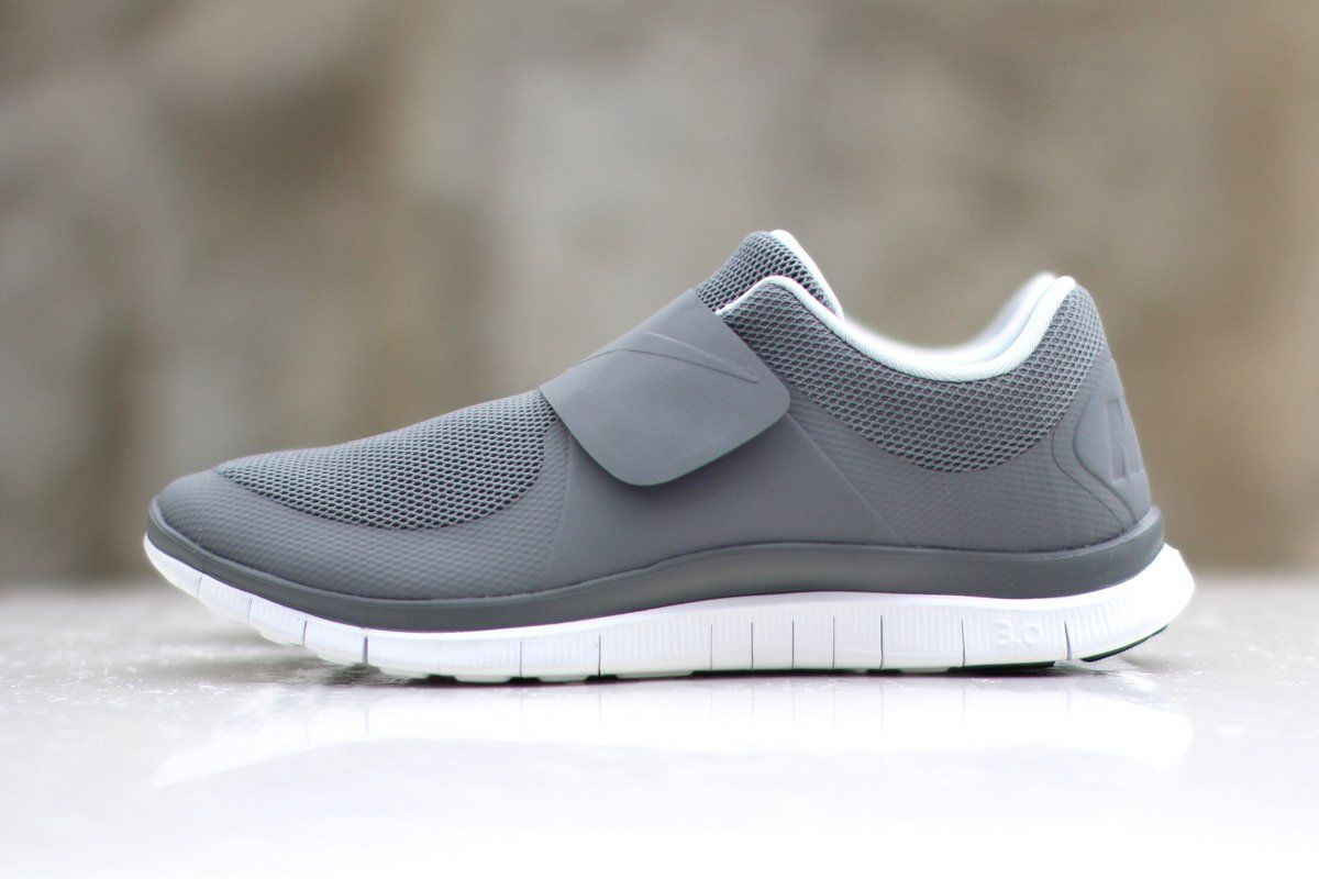 Newest Nike Free Socfly Grey Mens Trainers Outlet UK0728