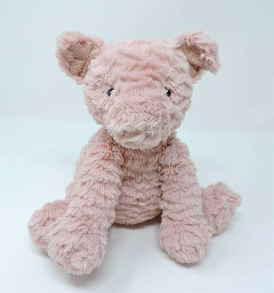 Jellycat Fuddlewuddle Pig Pink Plush Piglet 9 Soft Toy Stuffed Animal Jellycat Pet Toys Toys Soft Toy