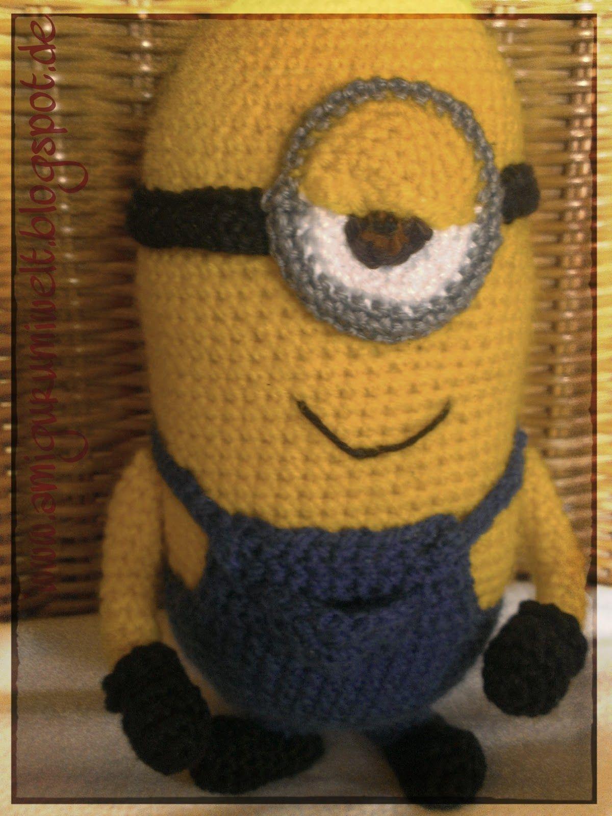 Amigurumi Häkeln Crochet Minions Kostenlos übersetzung