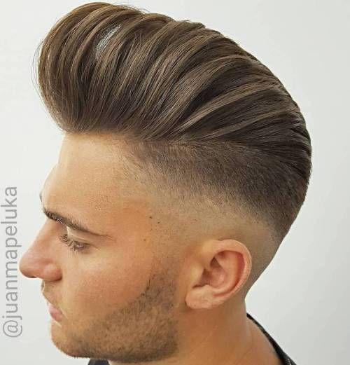 40 Totally Rad Pompadour Hairstyles Frisuren Haarschnitte Herrenfrisuren Haar Styling