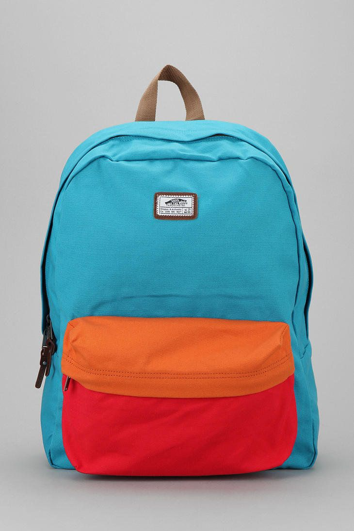 e9d23432da8df1 bitchtookmypillow s save of Urban Outfitters - Vans Old Skool II Colorblock  Backpack on Wanelo