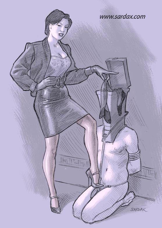 Heels for transvestites