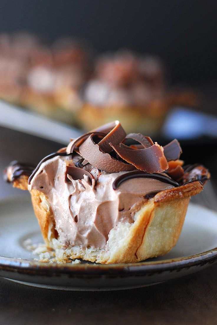 Mini Nutella Pies #recipeforpiecrust
