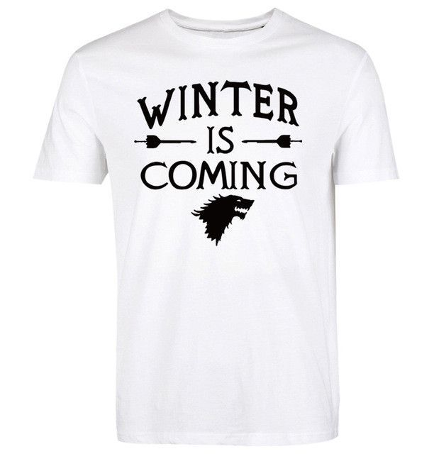 Winter Is Coming casual T-Shirt