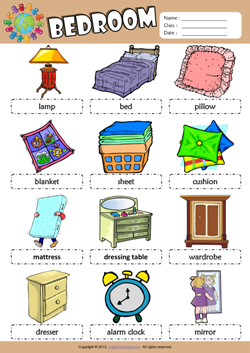 bedroom picture dictionary esl vocabulary worksheet school pinterest picture dictionary. Black Bedroom Furniture Sets. Home Design Ideas