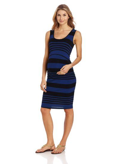 Ripe Maternity Women s Maternity Stripe Nursing Tube Dress ...