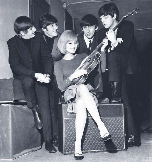 The Beatles With Sylvie Vartan 1964 The Beatles The Quarrymen The Beatles 1